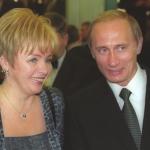 Vladimir Putin with Lyudmila Putin-1