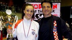 KICKBOXING: Ana Znaor europska prvakinja u light contactu, Petra Lončar srebrna