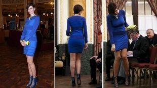ANICA KOVAČ: Istaknula liniju i lijepe noge kratkom plavom haljinom