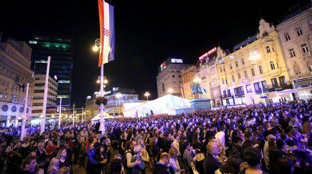 Koncert na Trgu bana Jelaèiæa povodom Dana hrvatske neovisnosti