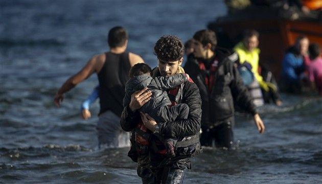 Izbjeglice u Egejskom moru