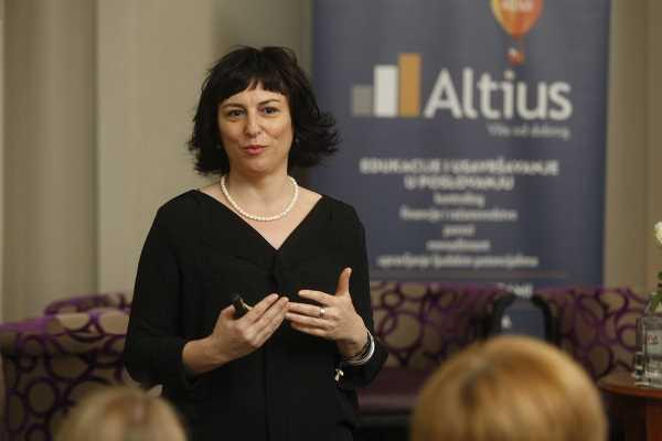 Andreja Švigir, direktorica Altius savjetovanja