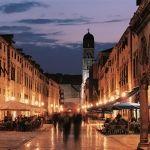 Dalmacija Dubrovnik night