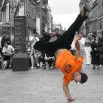 dance on street