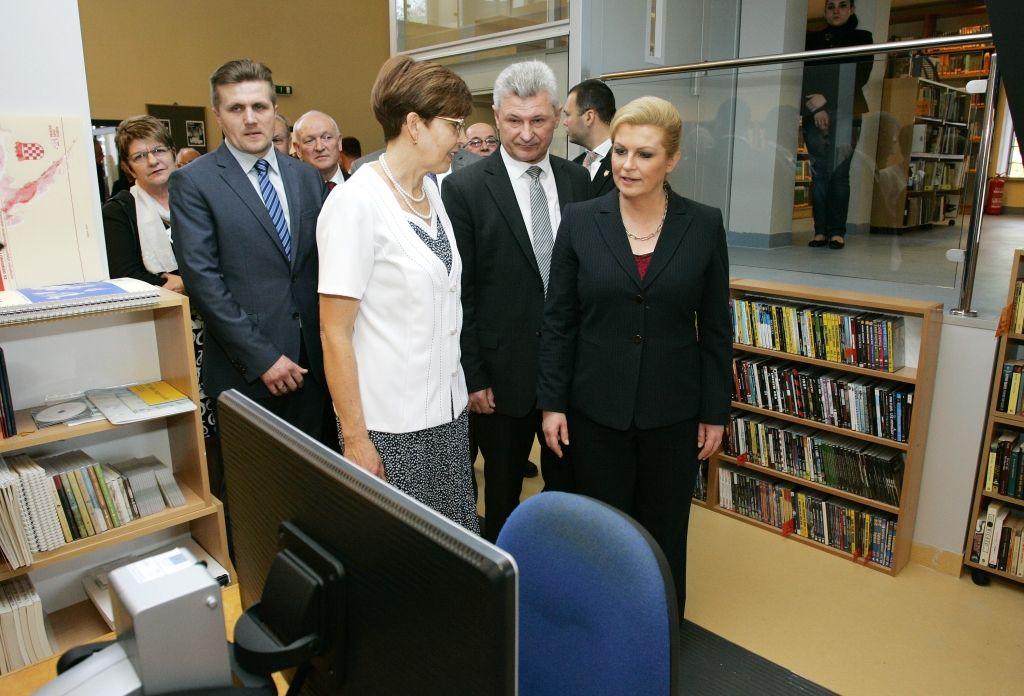 Predsjednica Grabar-Kitaroviæ u posjeti Križevcima