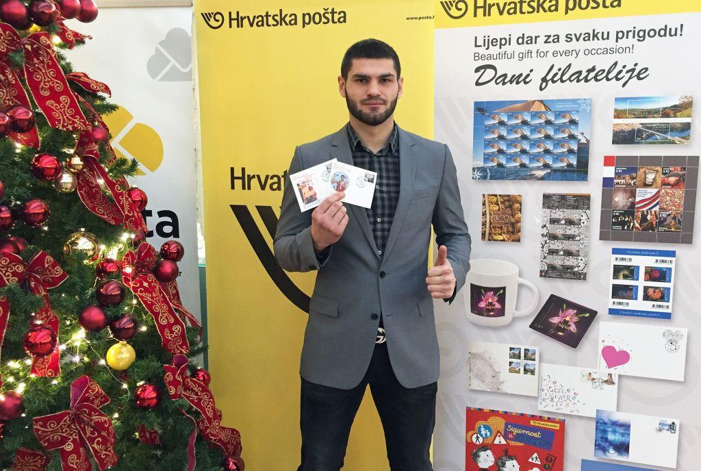 Filip Hrgoviæ dobio poštanski žig sa svojim likom i imenom