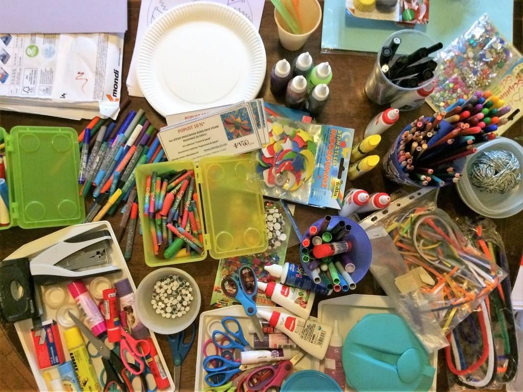 Materijali za kreativne klince
